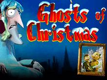 Игровое меню виртуального автомата Рождественские Призраки